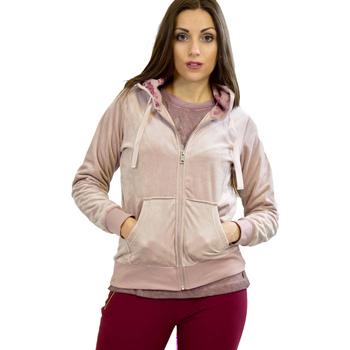 Oblečenie Ženy Mikiny Key Up 5CS57 0001 Ružová
