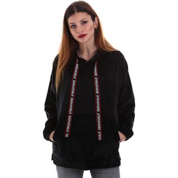 Oblečenie Ženy Mikiny Key Up 5CS91 0001 čierna