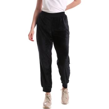Oblečenie Ženy Padavé nohavice Key Up 5CS55 0001 Modrá