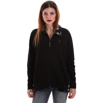 Oblečenie Ženy Mikiny Key Up 5FI46 0001 čierna