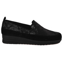 Topánky Ženy Mokasíny Grunland SC3980 čierna