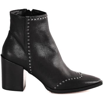 Topánky Ženy Čižmičky Mally 6333 čierna
