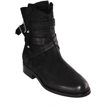 Topánky Ženy Čižmičky Mally 6431 čierna