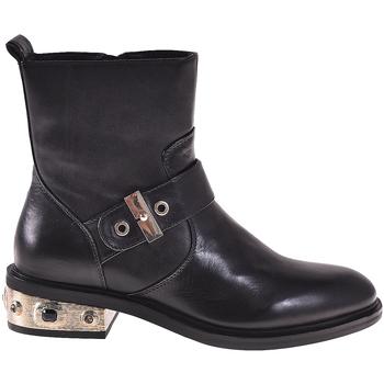 Topánky Ženy Čižmičky Elvio Zanon I8405P čierna
