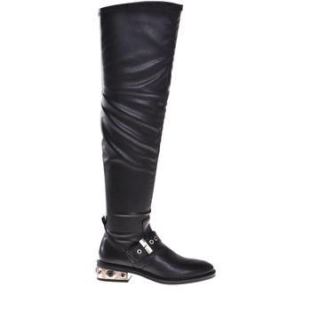 Topánky Ženy Čižmy do mesta Elvio Zanon I8406P čierna