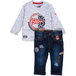 Oblečenie Chlapci Komplety a súpravy Losan 827-8013AC Modrá
