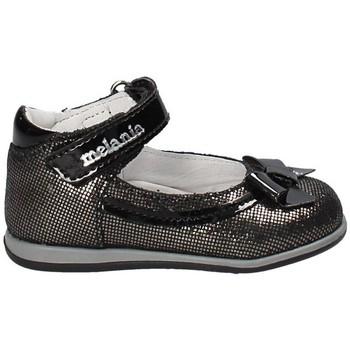 Topánky Dievčatá Balerínky a babies Melania ME0142A8I.C čierna
