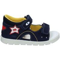 Topánky Dievčatá Športové sandále Falcotto 1500680-01-9101 Modrá
