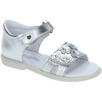 Topánky Dievčatá Sandále Falcotto 1500702-02-9111 Striebro
