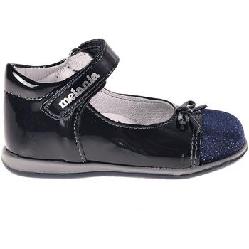 Topánky Dievčatá Balerínky a babies Melania ME0149A8I.B Modrá