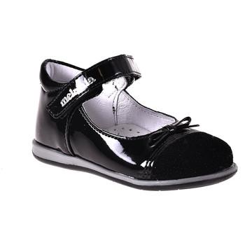 Topánky Dievčatá Balerínky a babies Melania ME0149A8I.A čierna