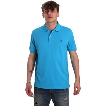 Oblečenie Muži Polokošele s krátkym rukávom U.S Polo Assn. 55957 41029 Modrá