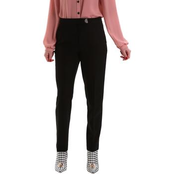 Oblečenie Ženy Nohavice Chinos a Carrot Gaudi 921FD25001 čierna