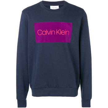 Oblečenie Muži Mikiny Calvin Klein Jeans K10K102973 Modrá