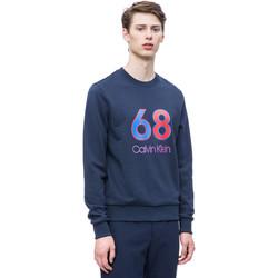 Oblečenie Muži Mikiny Calvin Klein Jeans K10K102981 Modrá