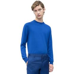 Oblečenie Muži Svetre Calvin Klein Jeans K10K103690 Modrá