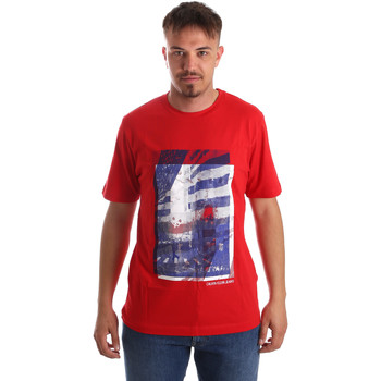 Oblečenie Muži Tričká s krátkym rukávom Calvin Klein Jeans J30J312285 Červená