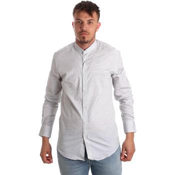 Oblečenie Muži Košele s dlhým rukávom Antony Morato MMSL00526 FA440024 Biely