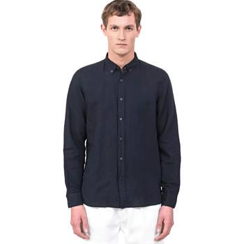 Oblečenie Muži Košele s dlhým rukávom Antony Morato MMSL00530 FA400051 Modrá