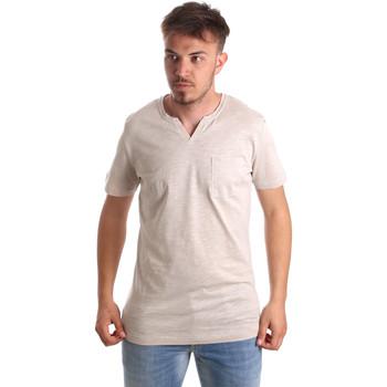 Oblečenie Muži Tričká s krátkym rukávom Antony Morato MMKS01487 FA100139 Béžová
