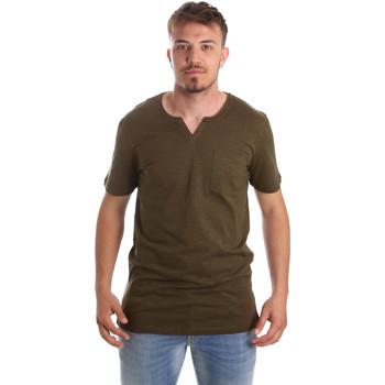 Oblečenie Muži Tričká s krátkym rukávom Antony Morato MMKS01487 FA100139 Zelená