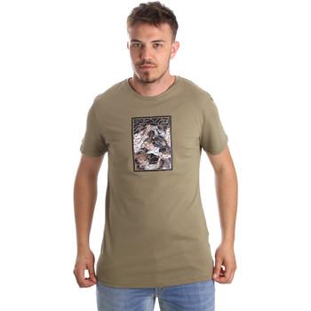 Oblečenie Muži Tričká s krátkym rukávom Antony Morato MMKS01551 FA100144 Zelená