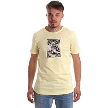 Oblečenie Muži Tričká s krátkym rukávom Antony Morato MMKS01551 FA100144 žltá