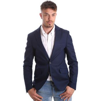 Oblečenie Muži Saká a blejzre Antony Morato MMJA00388 FA400060 Modrá
