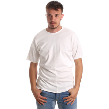 Oblečenie Muži Tričká s krátkym rukávom Antony Morato MMKS01564 FA100189 Biely