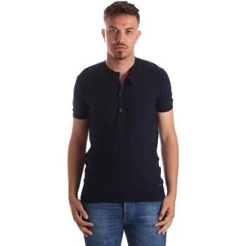 Oblečenie Muži Tričká s krátkym rukávom Gaudi 911FU53008 Modrá