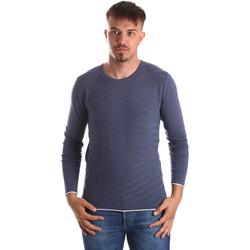 Oblečenie Muži Svetre Gaudi 911FU53018 Modrá