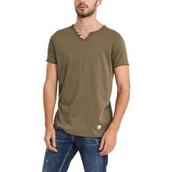 Oblečenie Muži Tričká s krátkym rukávom Gaudi 911BU64024 Zelená