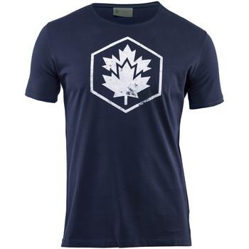 Oblečenie Muži Tričká s krátkym rukávom Lumberjack CM60343 002 509 Modrá