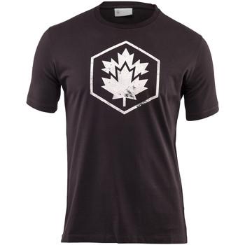 Oblečenie Muži Tričká s krátkym rukávom Lumberjack CM60343 001 509 čierna