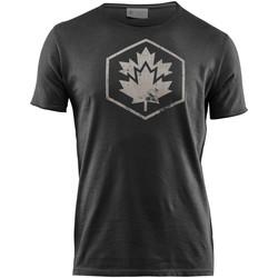 Oblečenie Muži Tričká s krátkym rukávom Lumberjack CM60343 002 509 čierna