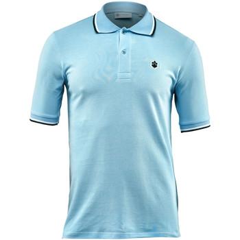 Oblečenie Muži Polokošele s krátkym rukávom Lumberjack CM45940 004 506 Modrá