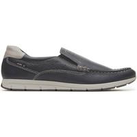 Topánky Muži Mokasíny Enval 3238000 Modrá