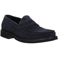 Topánky Muži Mokasíny Rogers AZ004 Modrá
