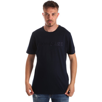 Oblečenie Muži Tričká s krátkym rukávom Navigare NV31070 Modrá