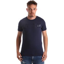 Oblečenie Muži Tričká s krátkym rukávom Navigare NV31081 Modrá