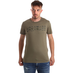 Oblečenie Muži Tričká s krátkym rukávom Navigare NV31081 Zelená