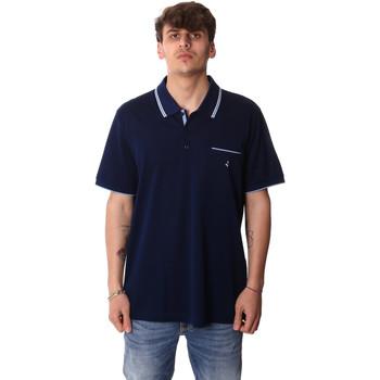 Oblečenie Muži Polokošele s krátkym rukávom Navigare NV72045AD Modrá