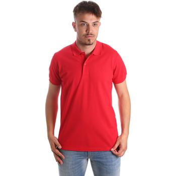 Oblečenie Muži Polokošele s krátkym rukávom Navigare NV82001 Červená