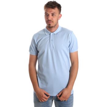 Oblečenie Muži Polokošele s krátkym rukávom Navigare NV82001AD Modrá