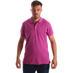 Oblečenie Muži Polokošele s krátkym rukávom Navigare NV82086 Ružová