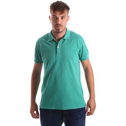 Oblečenie Muži Polokošele s krátkym rukávom Navigare NV82086 Zelená