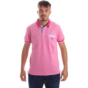 Oblečenie Muži Polokošele s krátkym rukávom Navigare NV82092 Ružová
