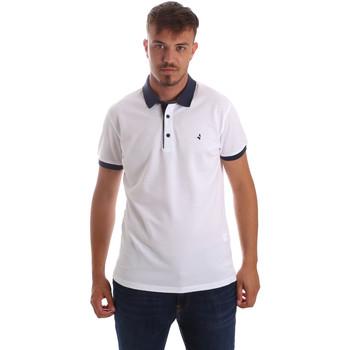 Oblečenie Muži Polokošele s krátkym rukávom Navigare NV82097AD Biely