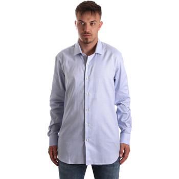 Oblečenie Muži Košele s dlhým rukávom Navigare NV90005 FR Modrá