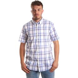 Oblečenie Muži Košele s krátkym rukávom Navigare NV91057 BD Modrá